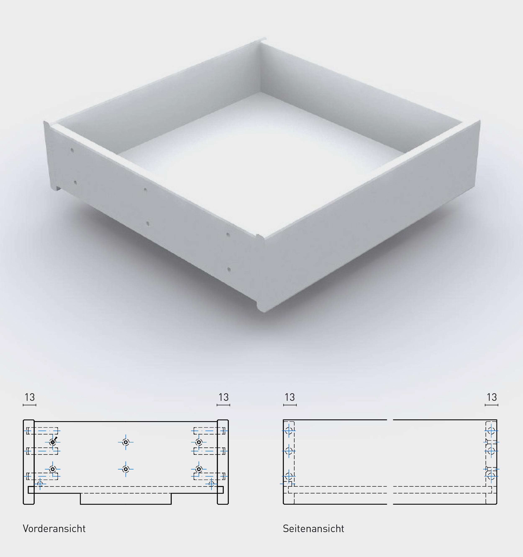 Dekorschubkästen Schubkästen Das Sortiment Möbelkomponenten